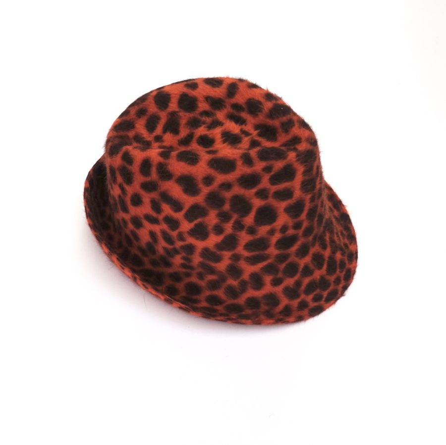 Hut Leopardo orange CHF 334