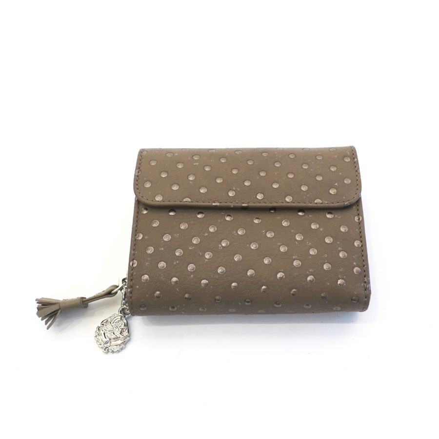 12 Portemonnaie MARY Dots taupe sale